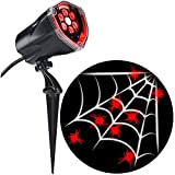 LED Projection Plus Whirl-a-Motion Red Spider with White Web Indoor/Outdoor Stake Light Review