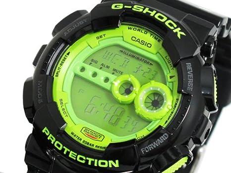 6ba4ca0709 Amazon   カシオ CASIO Gショック G-SHOCK 高輝度LED 腕時計 GD100SC-1 ...