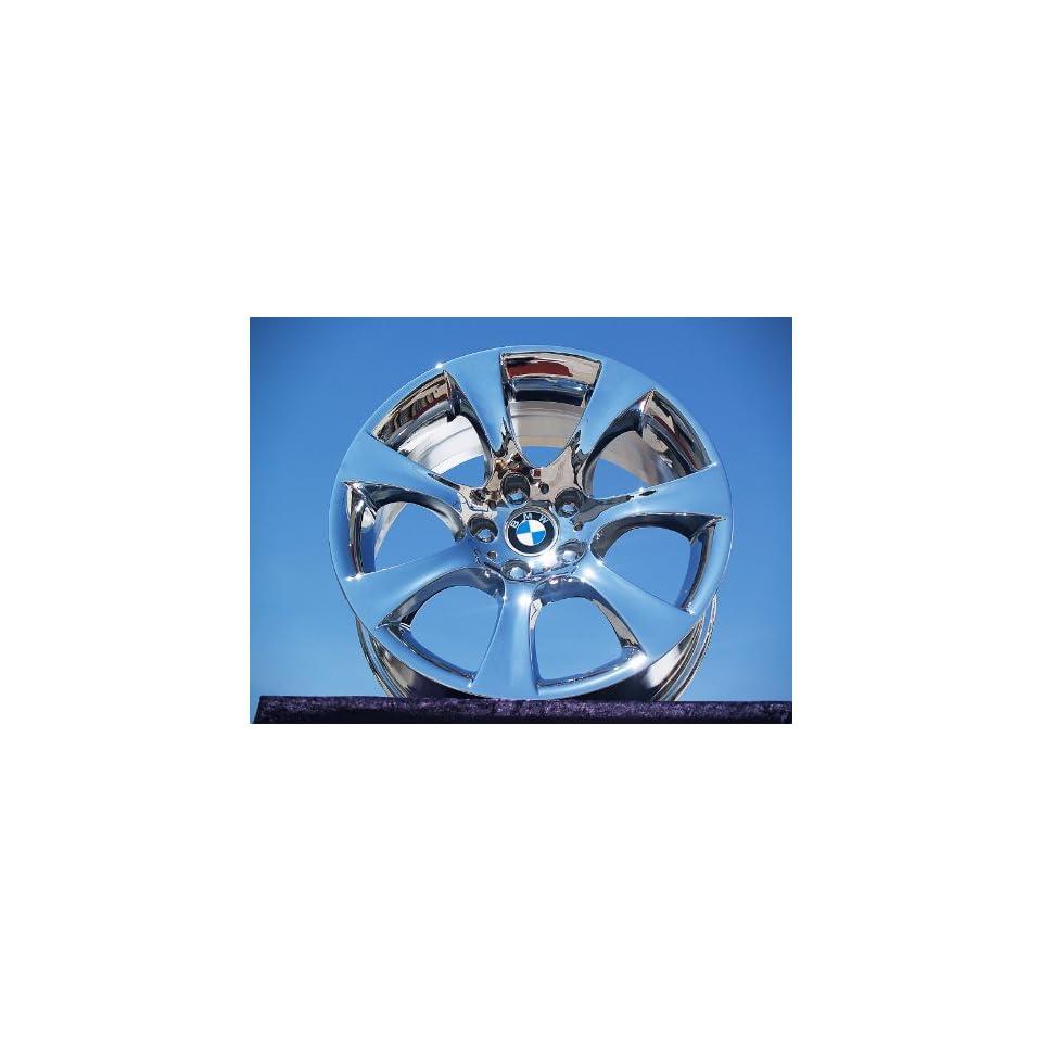 BMW 5 series SportStyle 124 Set of 4 genuine factory 18inch chrome wheels