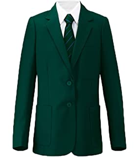 Girls Green Wool School Blazer 61cm = 24