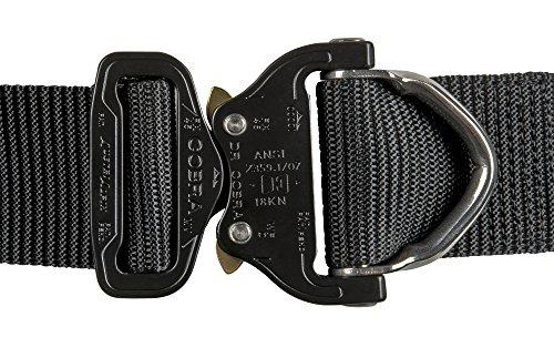Helikon-Tex Patrol Line, Cobra Tactical D-Ring Belt FX38 Black, Up to 36 Pants Size / 47'' Belt Length by HELIKON-TEX (Image #2)