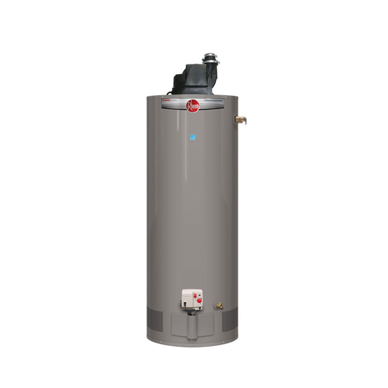 Rheem PROG50-42N RH67 PV Professional Classic Residential 42K BTU Power Vent Natural Gas Water Heater, 50-Gallon