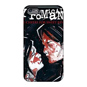 Awesome EjQ1729OzUz Acbc123 Defender Tpu Hard Case Cover For Iphone 6plus- My Chemical Romance Band