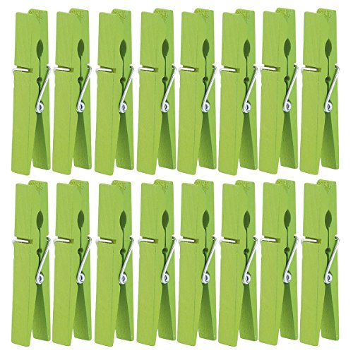 Tinksky Wooden Clothes Clothespins Pins 40pcs