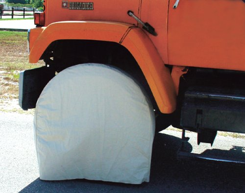 Canvas Wheel Duty Heavy Cover (X Large Canvas Wheel Masker - 4pc per set)