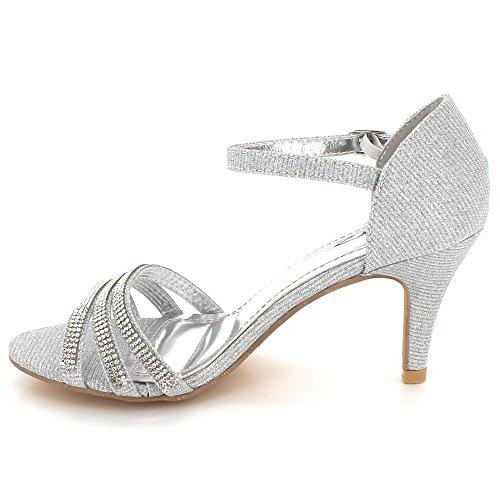 Mariage Diamante Dames Soir Brillant Cristal Femmes F xTqXnz7xw