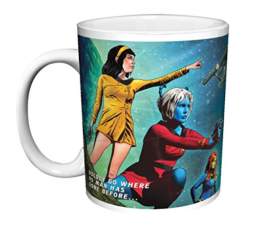 Star Trek Join Starfleet Recruiting Poster (Joe Corroney It's Your Galaxy Too) Sci-Fi TV Television Show Ceramic Gift Coffee (Tea, Cocoa) (11 OZ C HANDLE CERMIC MUG) (Tea Star Trek)