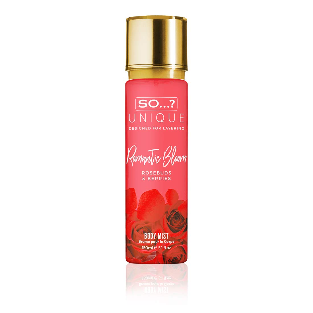 So.? Unique Romantic Bloom Body Mist, 150 ml 90215