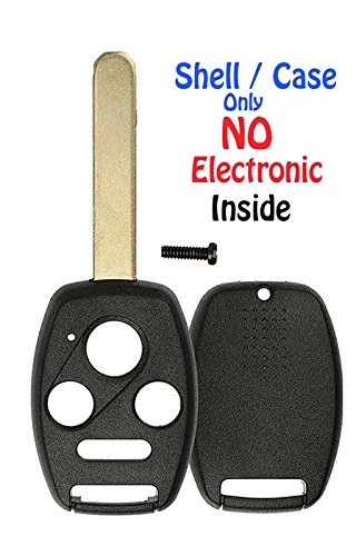KeylessCanada /© 1 New Keyless Entry 4 Button Remote Start Car Key Fob OUCG8D-380H-A for 2003-2007 Honda Accord Shell//Case ONLY