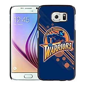 New Custom Design Cover Case For Samsung Galaxy S6 Golden state warriors 12 Black Phone Case