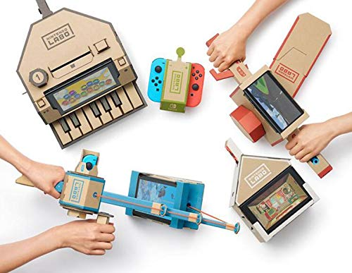 Replacement Cardboard Of Switch Labo: Variety Kit,cardboard parts -Software Not include!