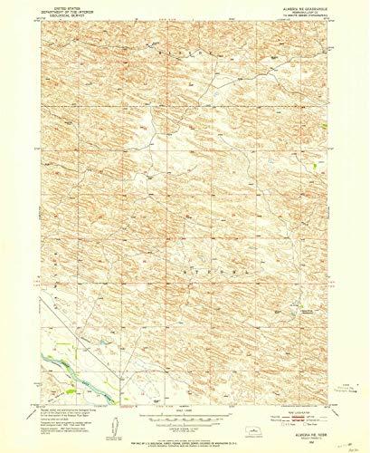 (YellowMaps Almeria NE NE topo map, 1:24000 Scale, 7.5 X 7.5 Minute, Historical, 1952, Updated 1954, 26.9 x 22 in - Tyvek)