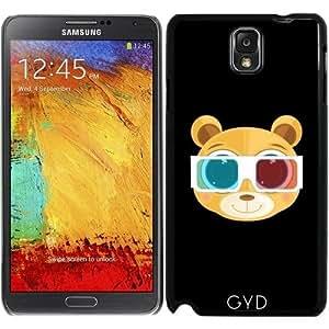 Funda para Samsung Galaxy Note 3 (GT-N9500) - Oso De Peluche - 3d by Adamzworld