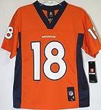 NFL Denver Broncos Peyton Manning Mid-Tier Jersey, L, Orange