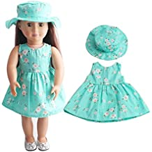 WensLTD Clearance! Skirt&Hat For 18 inch Our Generation American Girl Doll