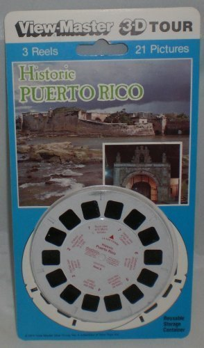 Historic Puerto Rico View-Master 3 Reel Set - 21 3d Images by View ...
