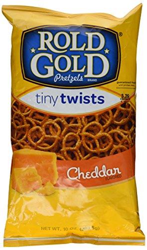 - Rold Gold - Cheddar Tiny Twists - 10-oz. bag (qty 1)