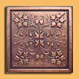 30pc of Capri Copper/Black (24''x24'' PVC 20 mil) Ceiling Tiles - Covers about 120sqft