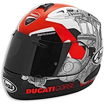 Ducati 981023405 Corse Helmet - Large