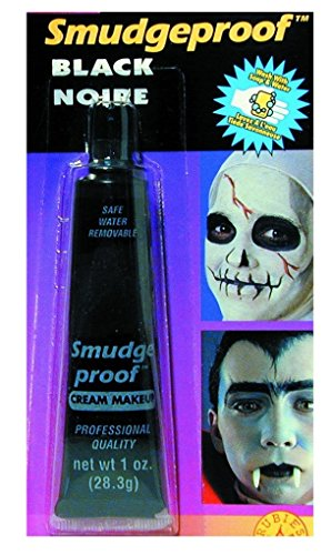 Rubie's Costume Co. 19545 Black Smudge Proof Cream Make - Up Costume, One Size, Multicolor (Pack of 24)]()