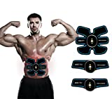 Muscle Toner Abdominal Toning Belt, Trainer Wireless Body Gym Workout Home Office Fitness Equipment For Abdomen/Arm/Leg Training Portable Home/Office Workout Equipment Support