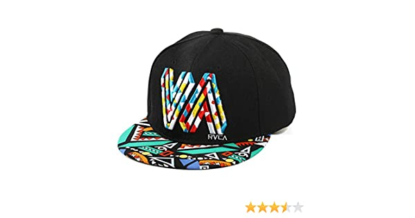 Unisex Algod/ón De Primera Calidad Snapback Del Sombrero De Hip Hop Ajustable Bill Plano Gorras De B/éisbol Casquillo De Sun Para Hombres Y Mujeres Negro