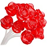 Sparko Sweets Twinkle Pop Lollipops, Red Rose,37.80 Ounce,120 Count