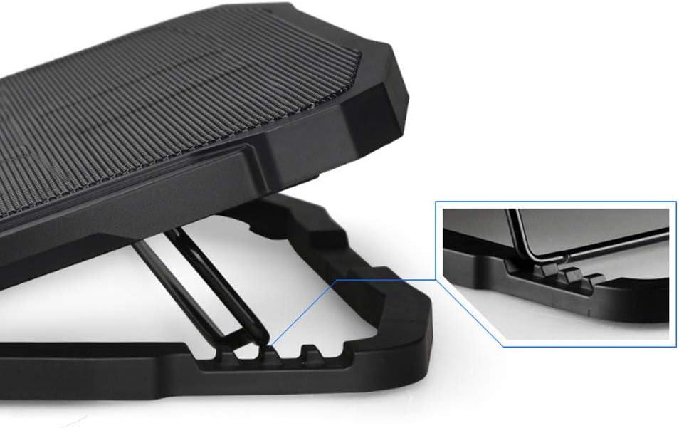 Notebook Radiator Laptop Computer Cooler with Speed Control Fan Base Bracket Pad Adjustable Speed Fan