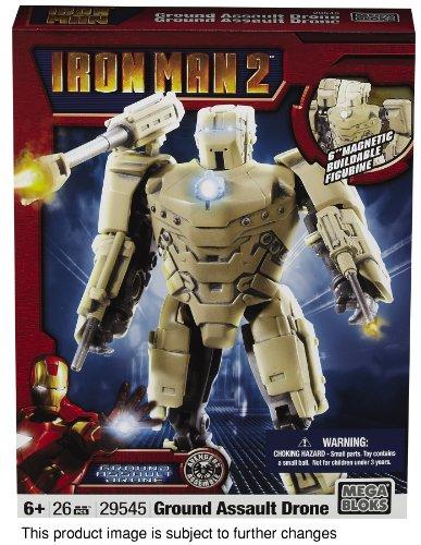 Ironman 2 MetalOns Army Drone by Mega Bloks
