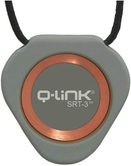 Q-Link Triangle Pendentif SRT-3 en acrylique Olive