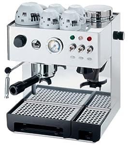 Espresso Siebträgermaschine mit integriertem Mahlwerk La Pavoni Domus Bar