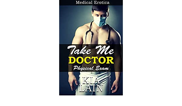 Doctor doing erotic physical exam