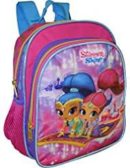Nickelodeon Shimmer and Shine Girls Deluxe 3D Embossed 10 Mini-Backpack