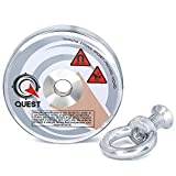 1222lb Fishing Magnet - Super Strong Pull Force