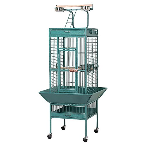 Yaheetech Pet Bird Cage Play Top Parrot Cockatiel Cockatoo Parakeet Finches