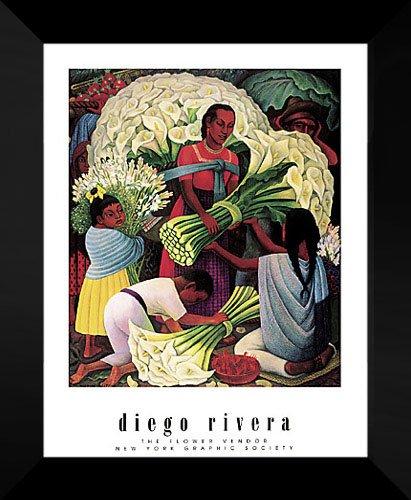 Diego Rivera Framed Art Print 20x24