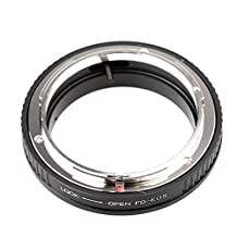 MagiDeal FD-EOS Ring Adapter Lens Adapter FD Lens to EF for Canon EOS Mount Camera