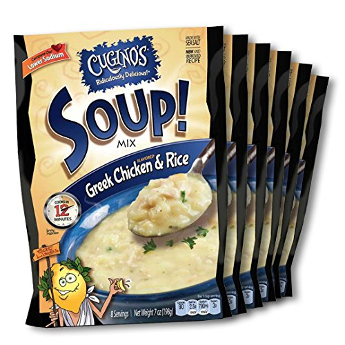 Easy Chicken Rice Soup (Cugino's Greek Chicken & Rice Soup Mix, 7 Oz (Pack of 6))