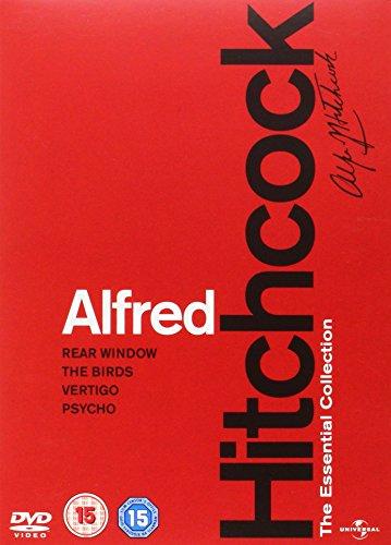 Alfred Hitchock  The Essential Collection  Rear Window   The Birds   Vertigo   Psycho   Dvd