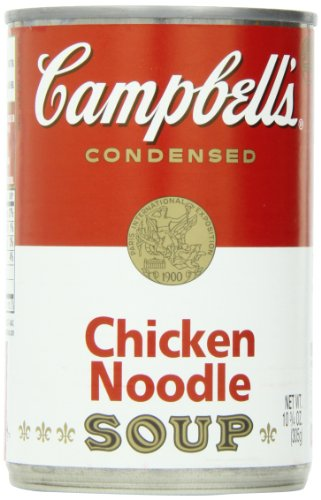Campbell's Condensed Soup, Chicken Noodle, 10.75 Ounce (Pack of 6)