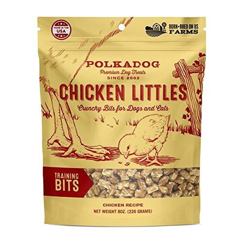 Bakery Dog Polka (Polka Dog Bakery Chicken Littles Training Bits Dog & Cat Treats, 8Oz)