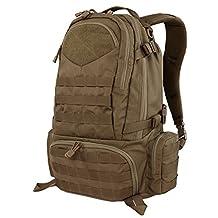 CONDOR ELITE 111073 Titan Assault Pack Brown