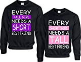 Best love Friend Shirts Matching For 2 Girls - Allntrends Set of 2 Adult Sweatshirt Every Tall Review
