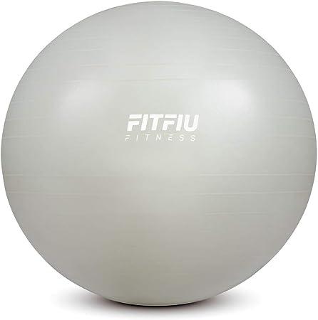 FITFIU Fitness FITBALL-65 - Pelota Fitness 65cm antipinchazos ...