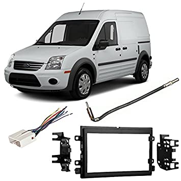 51NFqJ7AkhL._SY355_ amazon com fits ford transit connect 2013 ddin aftermarket 2013 Ford Transit Connect Interior at mifinder.co