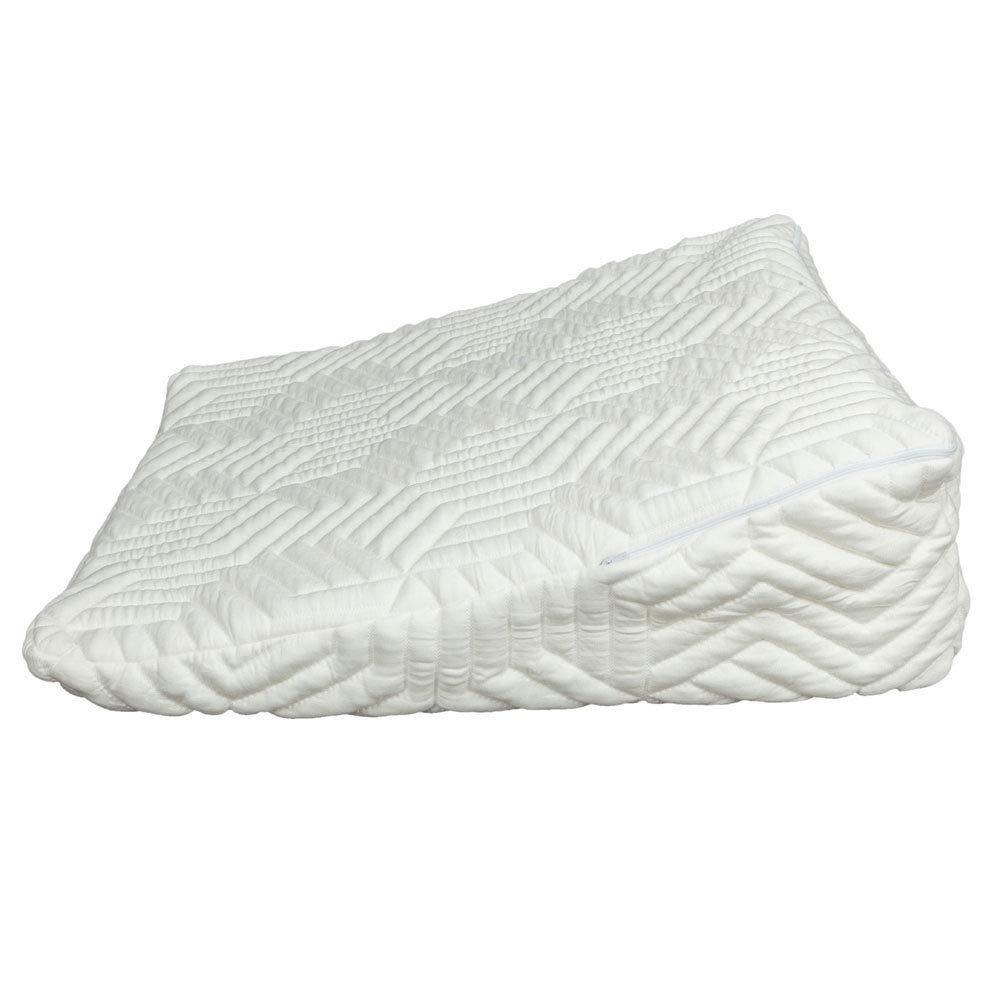 JedaJeda Memory Foam Wedge Pillow Bed Back Lumbar Neck Support Comfort Sleep Adjustable Triangle Eliminate Tiredness and Relieve Neck Fatigue