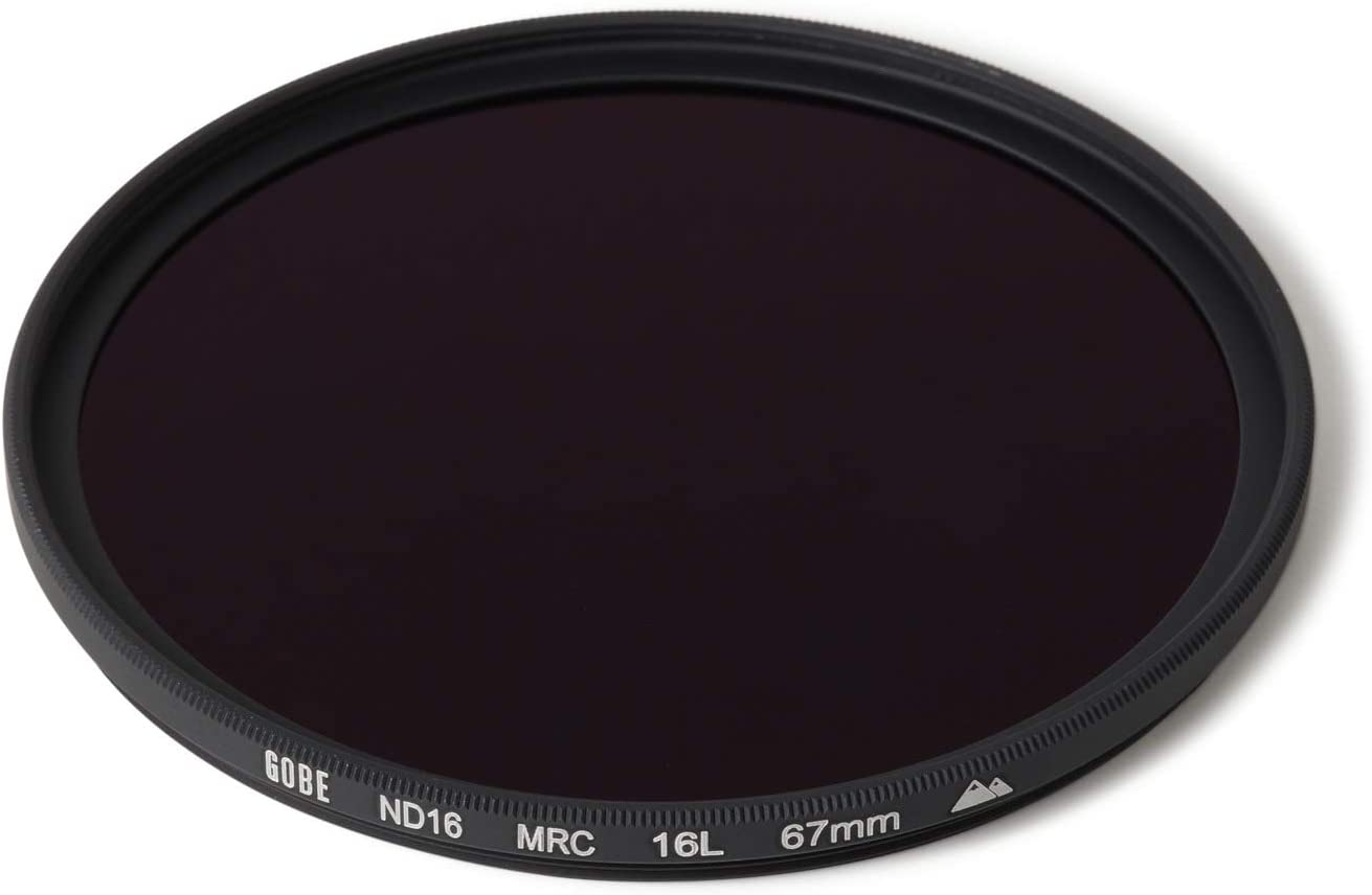 ND Lens Filter Gobe 43mm ND16 4 Stop 2Peak