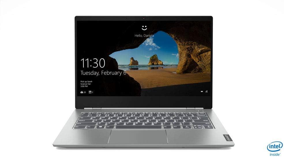 "Lenovo ThinkBook Full 14"" HD Laptop, Intel Core i7-8565U Upto 4.6GHz, 8GB RAM, 256GB NVMe SSD, AMD Radeon 540X, HDMI, Wi-Fi, Bluetooth, Windows 10 Pro"
