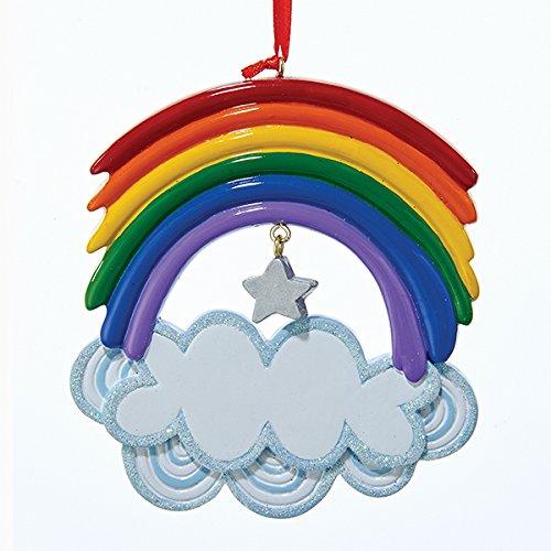 (Kurt Adler Christmas Rainbow Ornament)