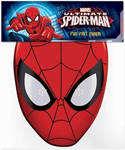 Spiderman Costumes Uk (Official Marvel Ultimate Spider-Man Card Face Mask)